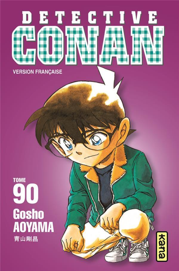 Couverture de Détective Conan -90- Tome 90
