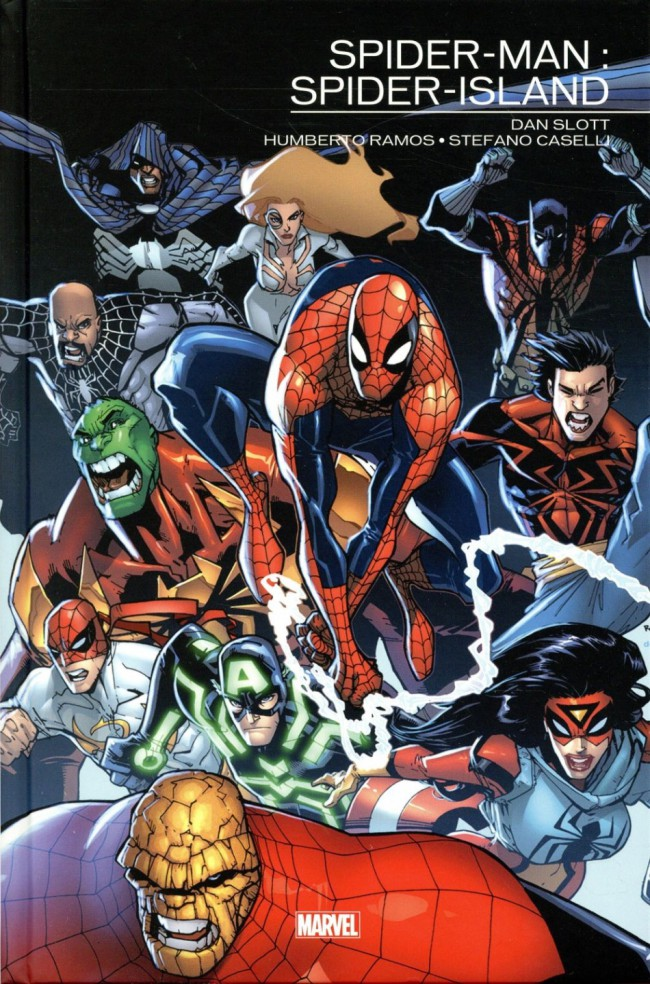 Couverture de Spider-Man : Spider-Island