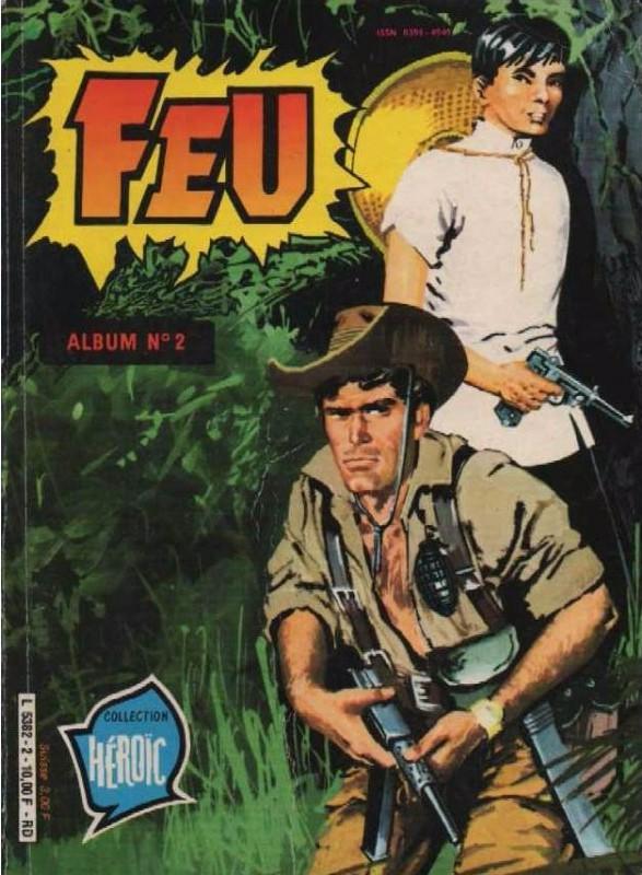 Couverture de Feu -Rec22- Album n°2 (44, 45, 46)