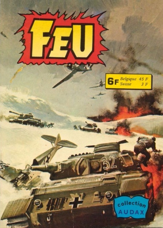 Couverture de Feu -Rec12- Recueil 5854 (23, 24)