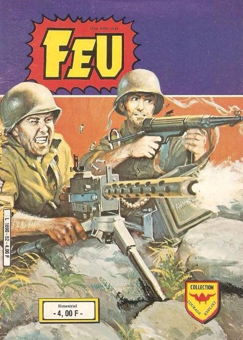 Couverture de Feu -52- La bataille décisive