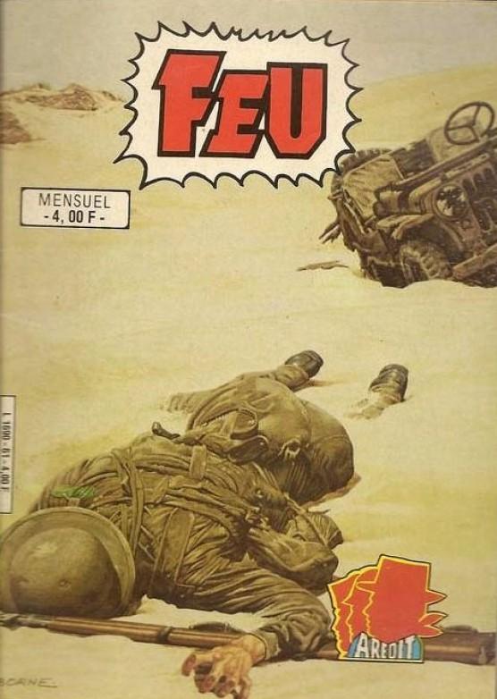 Couverture de Feu -61- La fin de la guerre