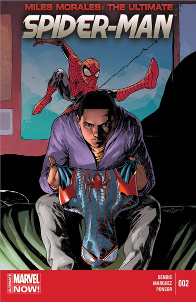 Couverture de Miles Morales: Ultimate Spider-Man (2014) -2- Issue 2