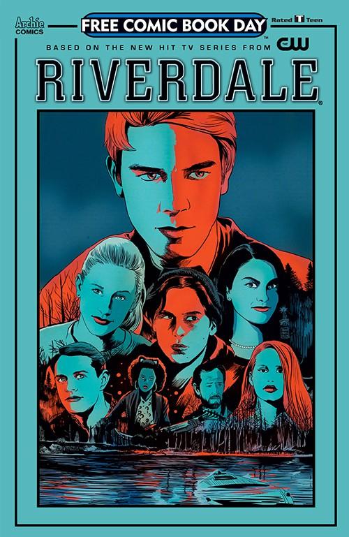 Couverture de Free Comic Book Day 2017 - Riverdale
