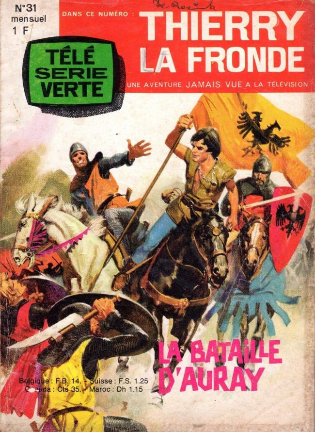 Couverture de Thierry la Fronde (Télé Série Verte) -31- La bataille d'Auray