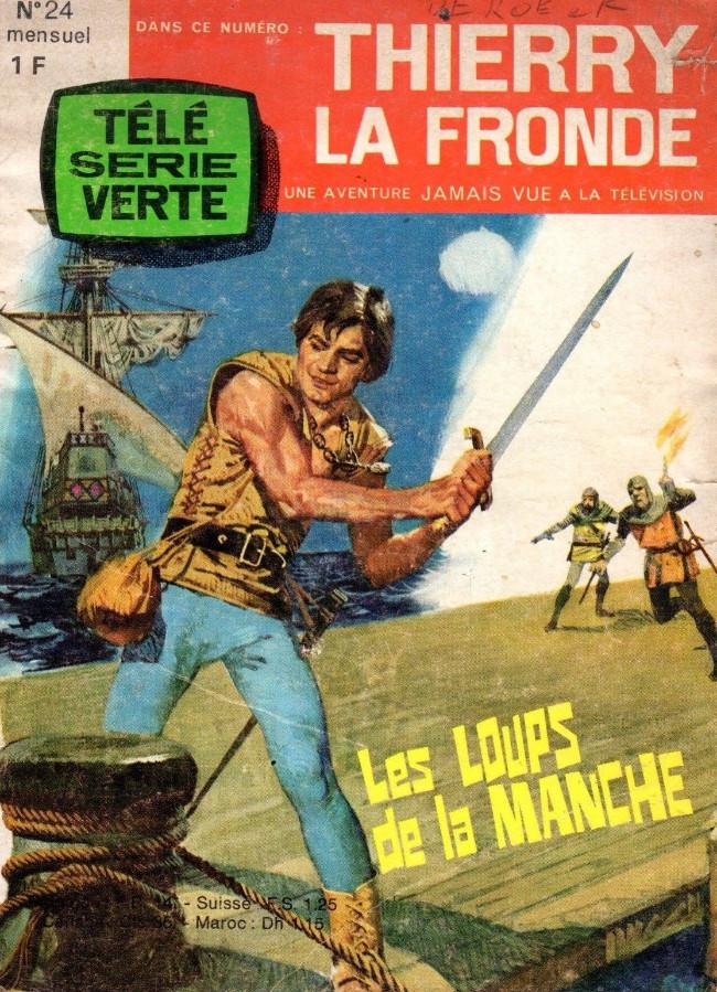 Couverture de Thierry la Fronde (Télé Série Verte) -24- Les loups de la Manche