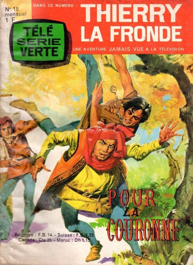 Couverture de Thierry la Fronde (Télé Série Verte) -18- Pour la couronne