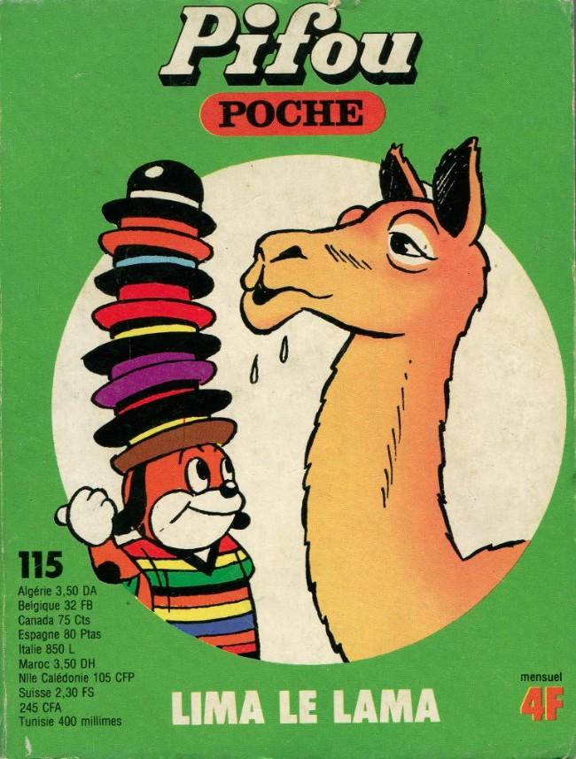 Couverture de Pifou (Poche) -115- Lima le lama