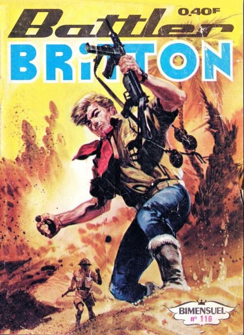 Couverture de Battler Britton (Imperia) -116- La chasse aux scorpions