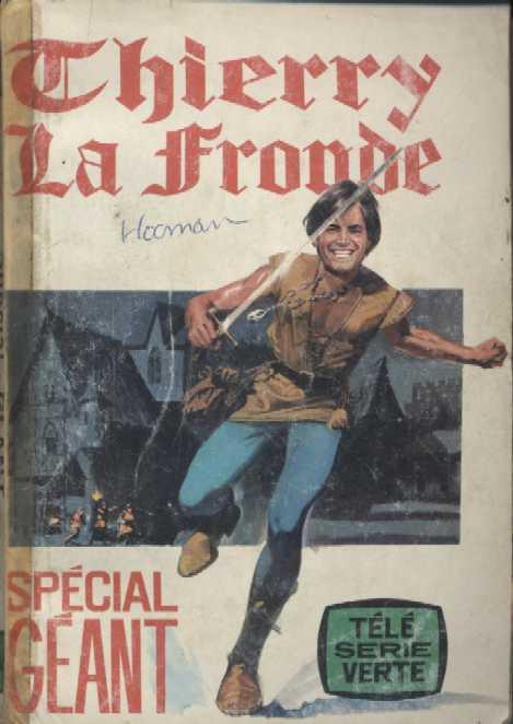 Couverture de Télé Série Verte (Thierry la Fronde) -Rec06- reliure n°6