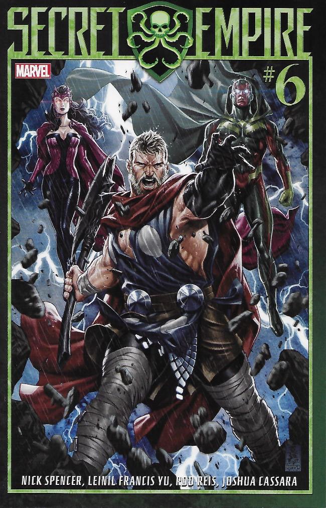 Couverture de Secret Empire (2017) -6- Issue #6