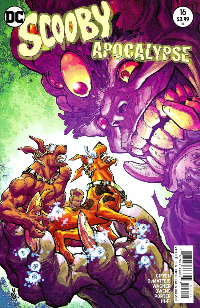 Couverture de Scooby Apocalypse (2016) -16- The Sacrifice!