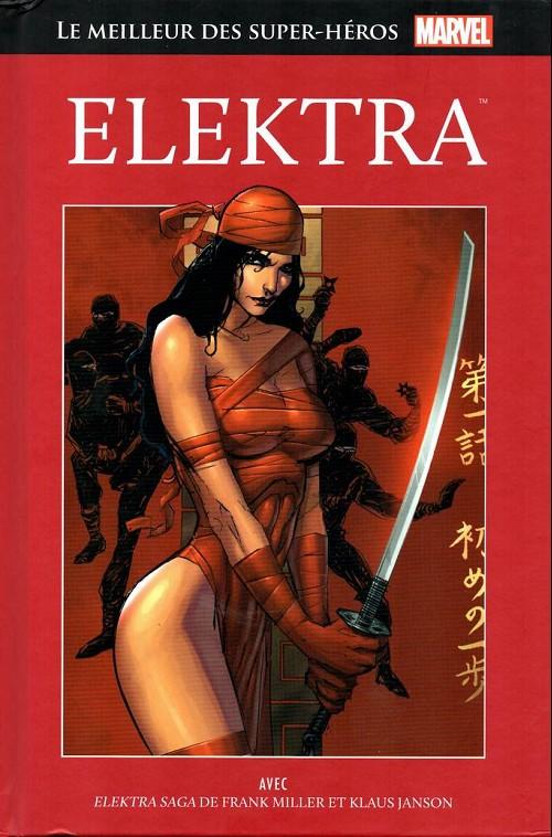 Couverture de Marvel Comics : Le meilleur des Super-Héros - La collection (Hachette) -41- Elektra