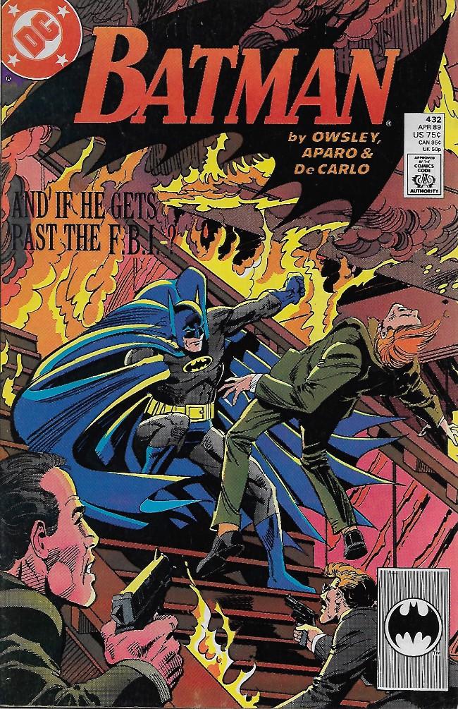 Couverture de Batman Vol.1 (DC Comics - 1940) -432- Dead Letter Office