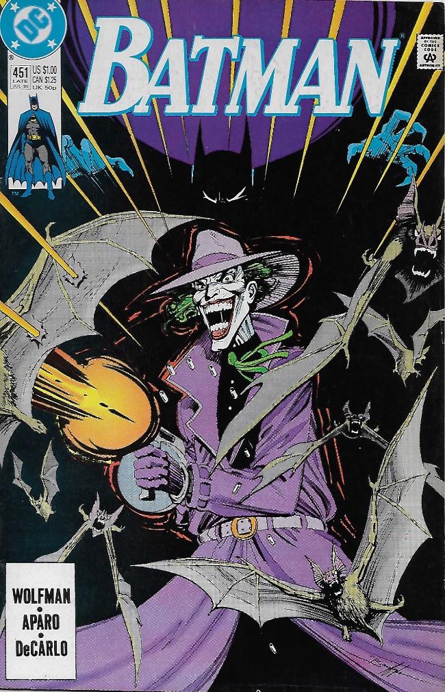 Couverture de Batman (1940) -451- Judgements!