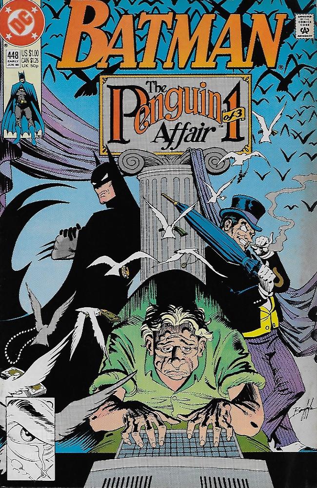 Couverture de Batman Vol.1 (DC Comics - 1940) -448- The Penguin Affair I: Pawns