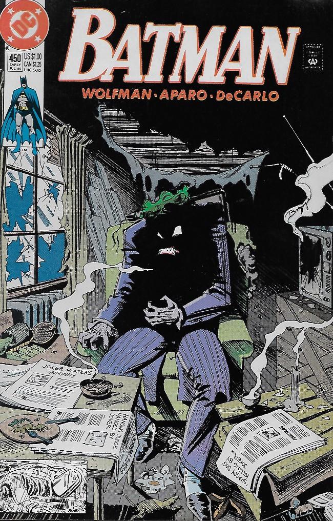 Couverture de Batman (1940) -450- Wildcard!