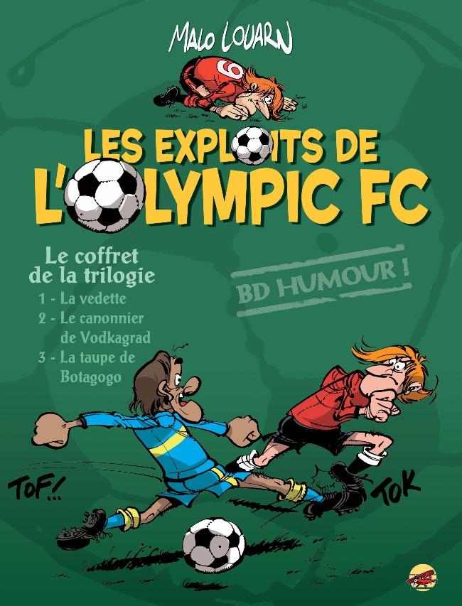 Couverture de La vedette -INT- Les Exploits de l'Olympic F.C.