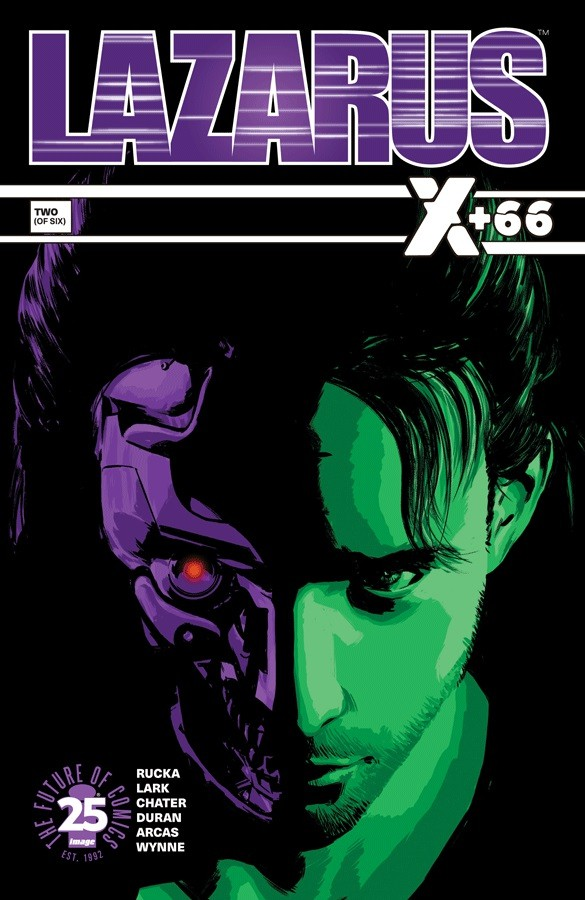 Couverture de Lazarus: X +66 (2017) -2- Binary