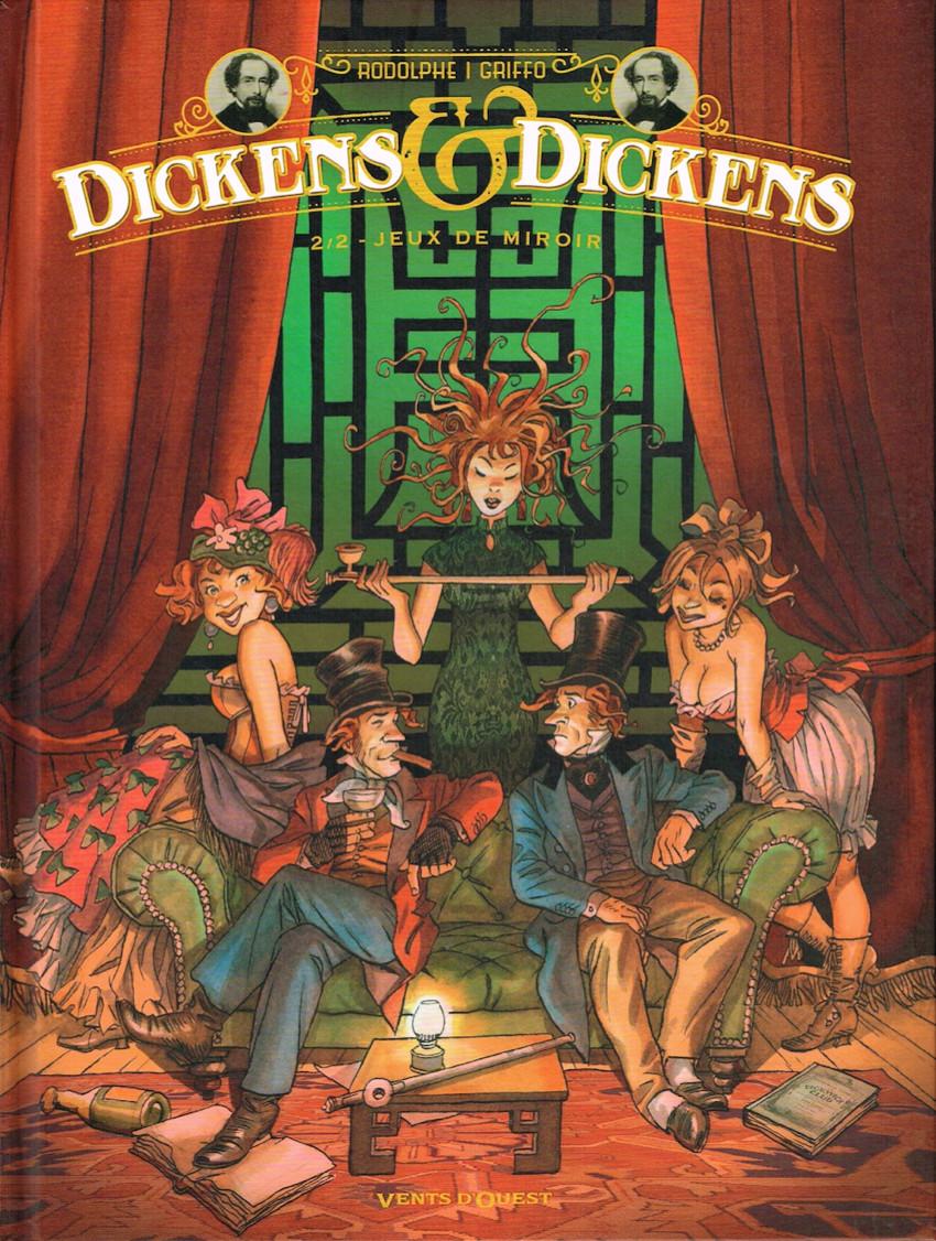 Couverture de Dickens & Dickens -2- Jeux de miroir