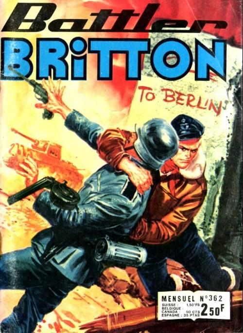 Couverture de Battler Britton -362- Repos interdit