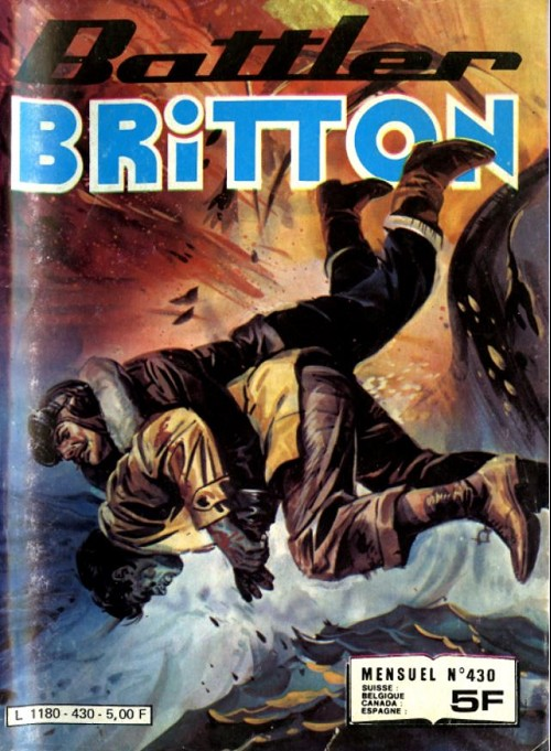 Couverture de Battler Britton (Imperia) -430- Mission en italie