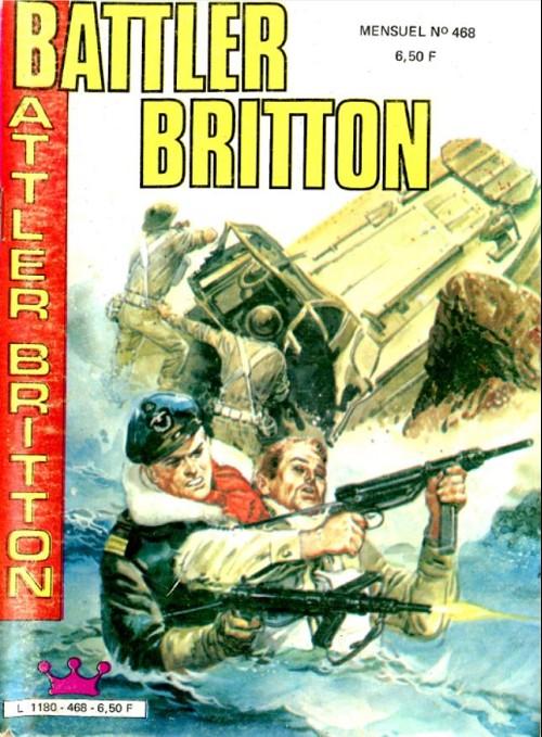 Couverture de Battler Britton -468- Vengeance viking