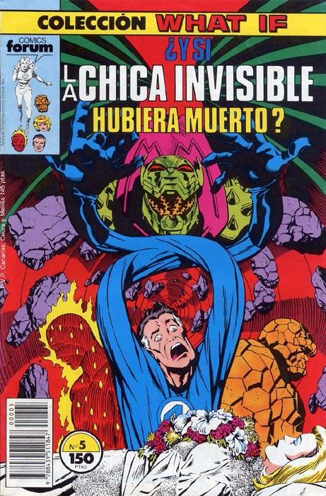 Couverture de What If? (édition espagnole) -5- ¿Y si La Chica Invisible hubiera muerto?