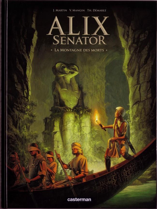 Couverture de Alix Senator -6- La Montagne des morts