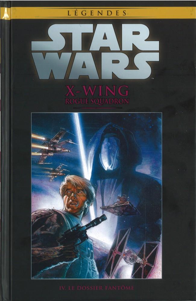 Couverture de Star Wars - Légendes - La Collection (Hachette) -4665- X-Wing Rogue Squadron - IV. Le Dossier Fantôme