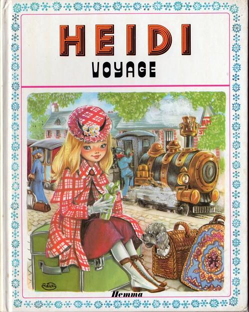 Couverture de Heidi (Maury) -13- Heidi voyage