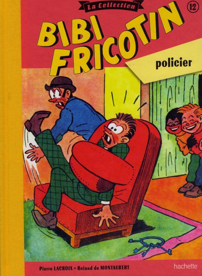 Couverture de Bibi Fricotin (Hachette - la collection) -12- Bibi Fricotin policier