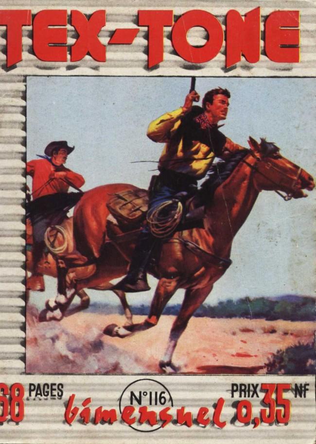 Couverture de Tex-Tone -116- Le fugitif