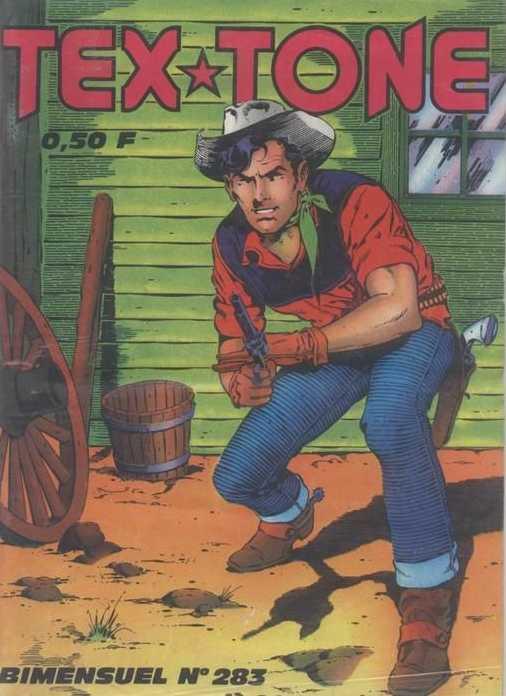 Couverture de Tex-Tone -283- On l'appela Cain