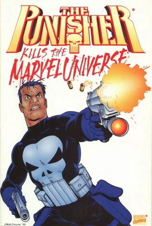 Couverture de Punisher Kills the Marvel Universe (The) (Marvel comics - 1995) -b- The Punisher kills the Marvel Universe