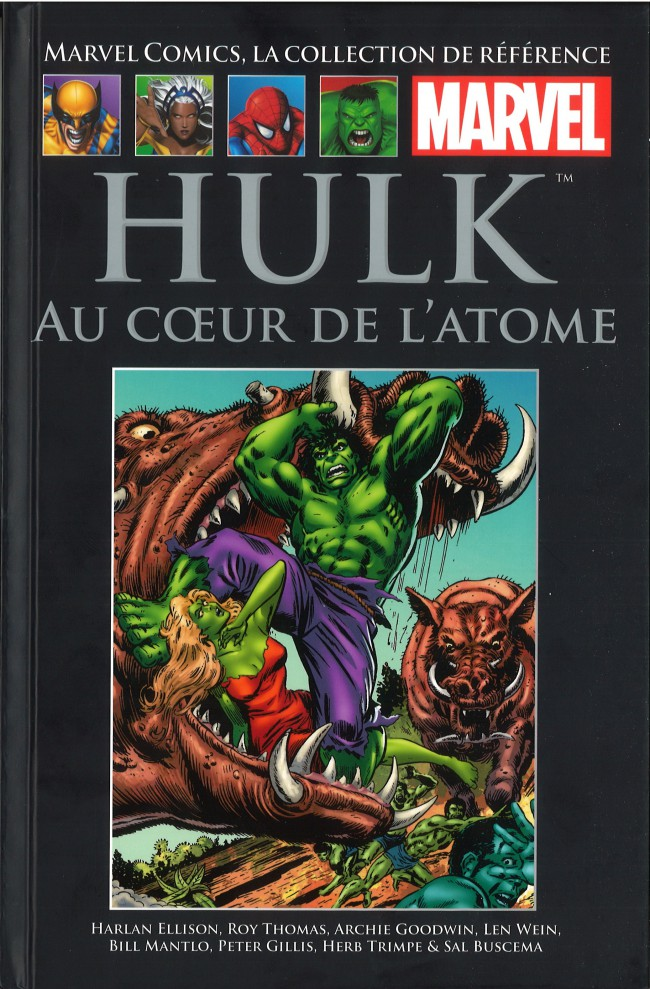 Couverture de Marvel Comics - La collection (Hachette) -92XIX- Hulk - Au cœur de l'atome
