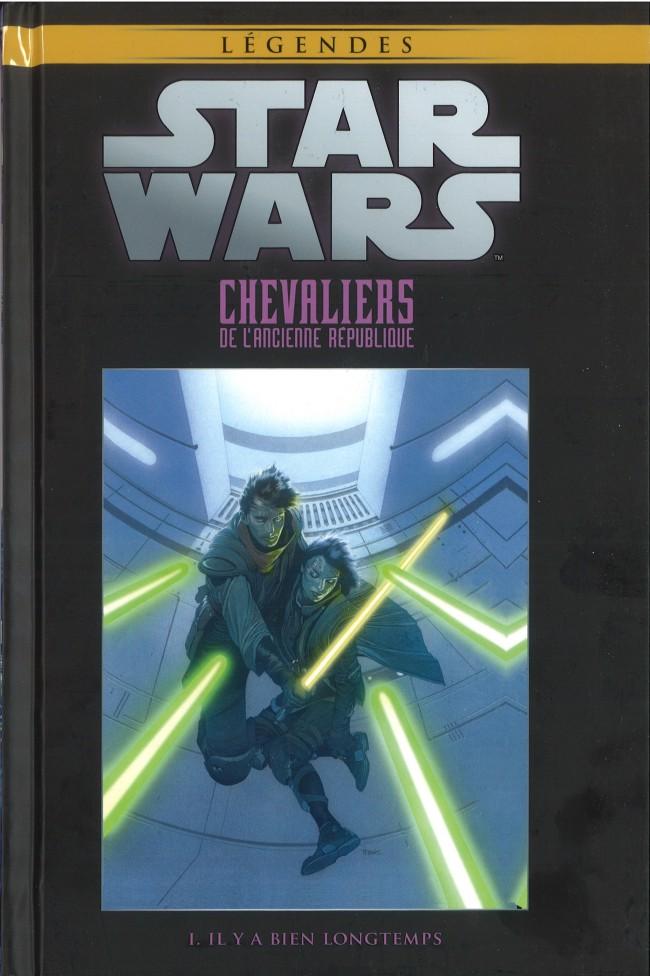 Couverture de Star Wars - Légendes - La Collection (Hachette) -4710- Chevaliers de l'Ancienne République - I. Il Y A Bien Longtemps