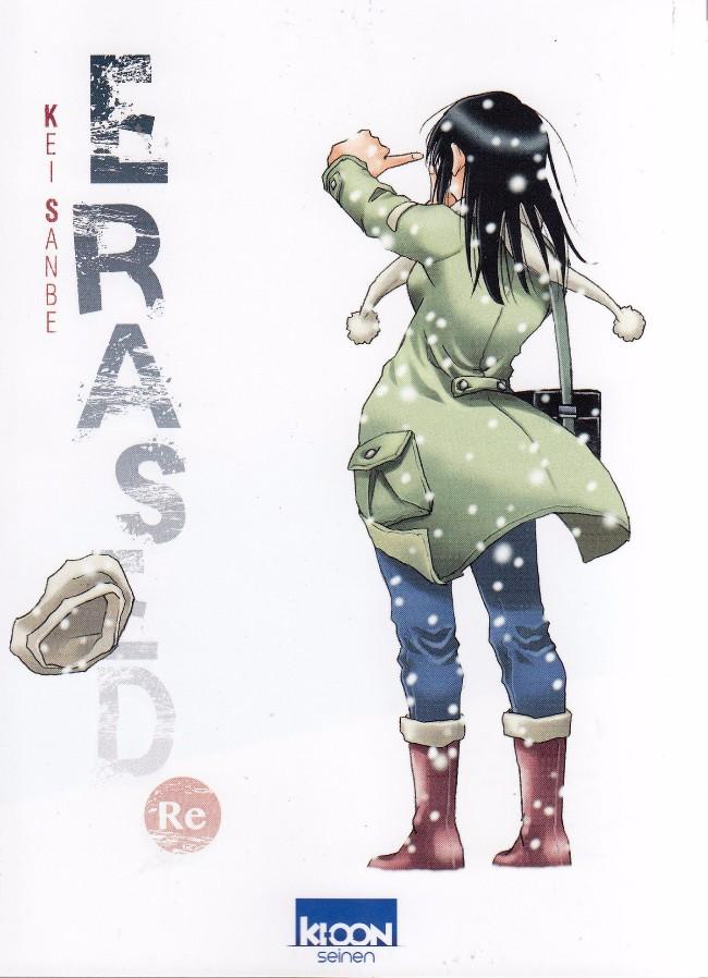 Couverture de Erased -HS- Erased Re