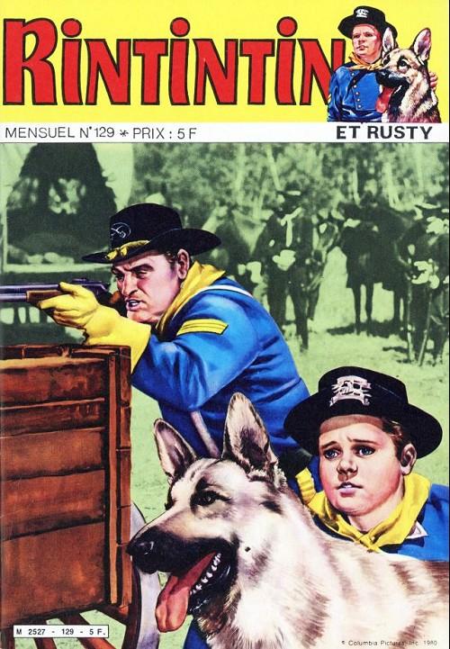 Couverture de Rin Tin Tin & Rusty (2e série) -129- La grande révolte