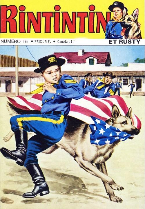 Couverture de Rin Tin Tin & Rusty (2e série) -112- Echec à la reine