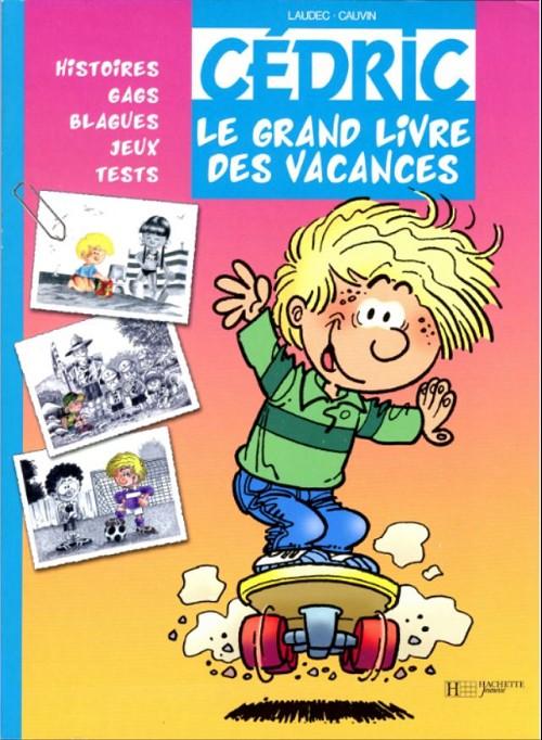 Couverture de Cédric -J3- Le grand livre des vacances