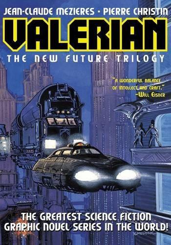Couverture de Valérian (en langues étrangères) -INT1Ang- Valerian - The New Future Trilogy