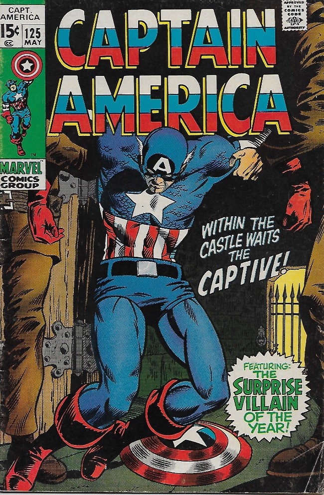 Couverture de Captain America (Marvel comics - 1968) -125- Captured..in Vietnam!