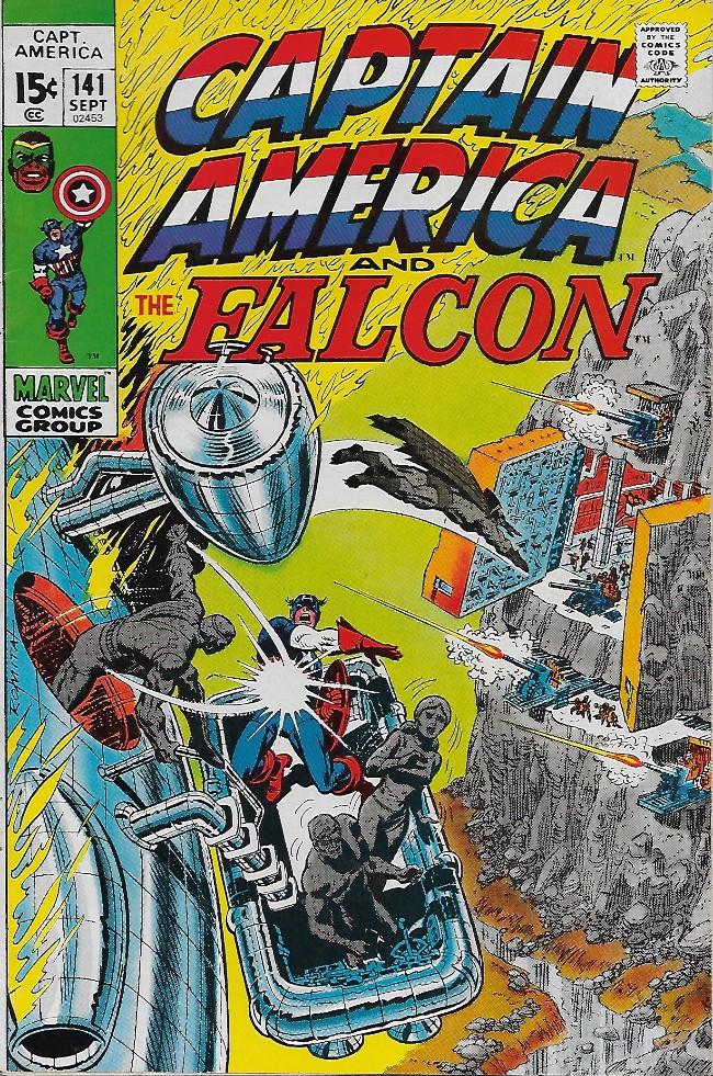 Couverture de Captain America (1968) -141- The Unholy Alliance!