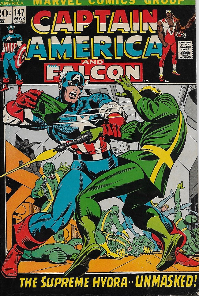 Couverture de Captain America (Marvel comics - 1968) -147-