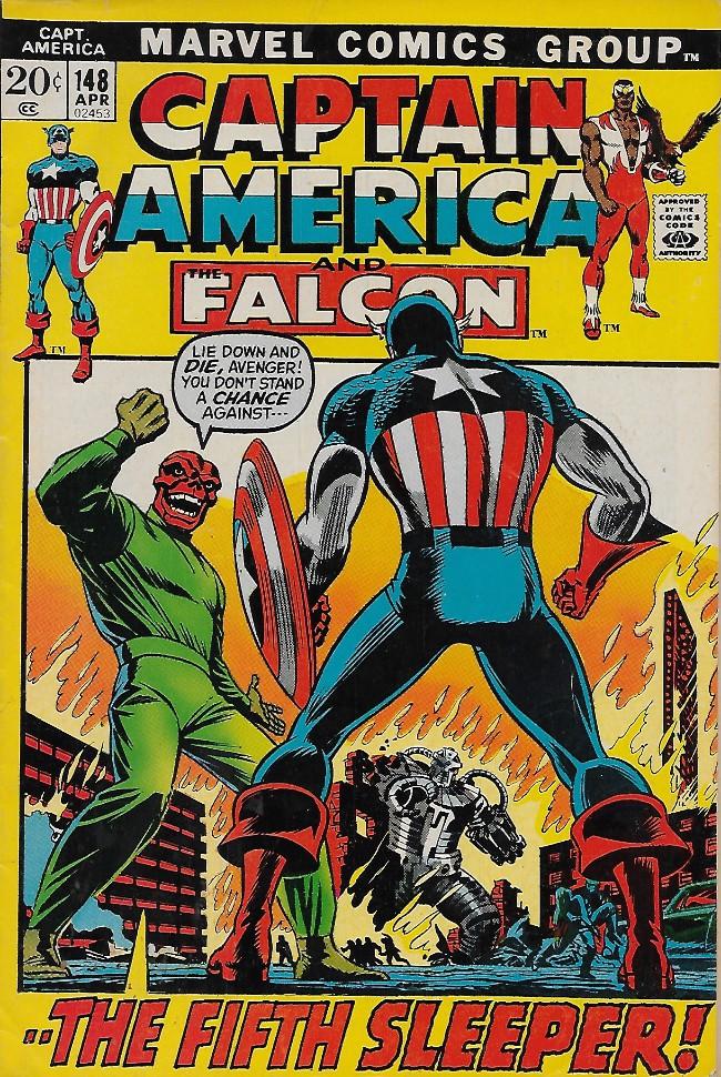 Couverture de Captain America (Marvel comics - 1968) -148- The Big Sleep