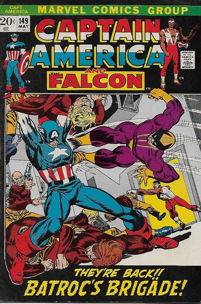 Couverture de Captain America (1968) -149- All the Colors... of Evil!
