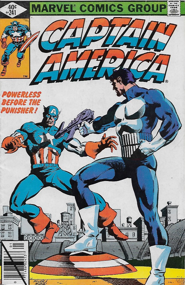 Couverture de Captain America (Marvel comics - 1968) -241- Fear Grows in Brooklyn!