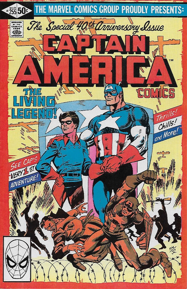 Couverture de Captain America (1968) -255- The Living Legend