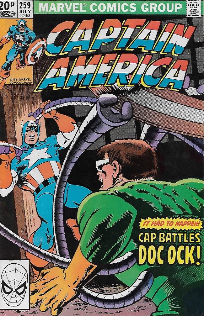 Couverture de Captain America (Marvel comics - 1968) -259- Rite of Passage!